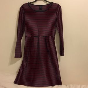 Gap Navy/Red Maternity Dress size Small
